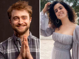 Sanya Malhotra gets a birthday wish from Daniel Radcliffe, and the internet is jealous!