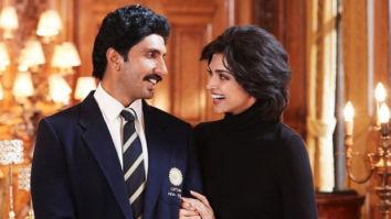 FIRST LOOK: Ranveer Singh as Kapil Dev and Deepika Padukone as Romi Dev are all smiles in upcoming film '83