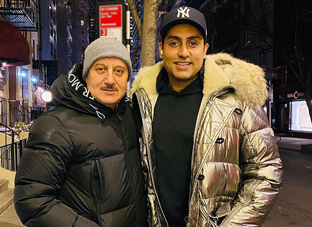 Watch: Abhishek Bachchan is here to give you a glimpse of Anupam Kher's New York home