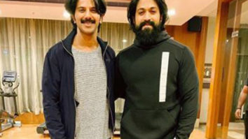 'When Kurup met Rocky bhai': Dulquer Salmaan shares picture with KGF star Yash