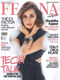 Shraddha Kapoor On The Cover Of Femina