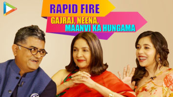 HILARIOUS Gajraj, Neena & Maanvi's Rapid Fire on SRK, Salman, Vicky, Ayushmann SMZS