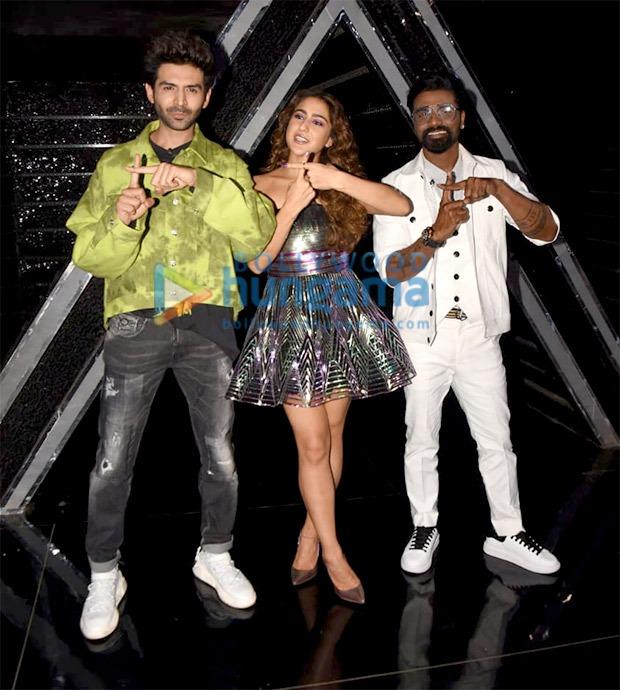 Kartik Aaryan injures himself while doing a daredevil act on Dance Plus