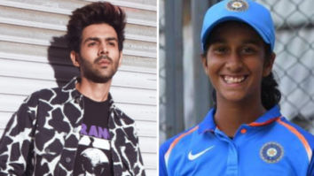 Kartik Aaryan reacts to cricketer Jemimah Rodrigues dancing to 'Haan Main Galat' with security guard at Women`s T20 World Cup