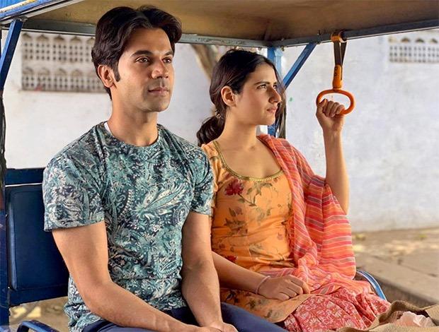 LUDO: Fatima Sana Shaikh shares a new still with Rajkummar Rao from Anurag Basu's upcoming drama