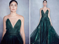 Lakme Fashion Week 2020: Kareena Kapoor Khan stuns in bright green gown with plunging neckline as she closes the finale walking for Amit Aggarwal