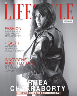 Rhea Chakraborty On The Covers Of Lifestyle
