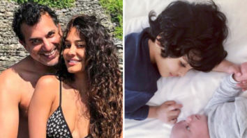 Lisa Haydon and Dino Lalvani welcome second baby boy, actress shares first photo of son Zack with new born Leo