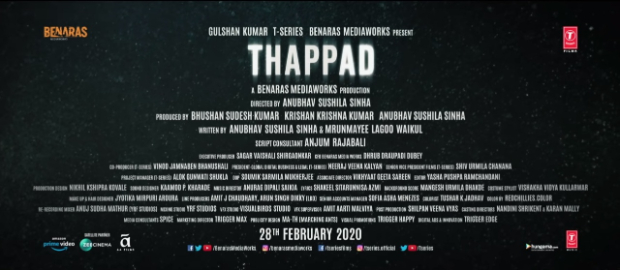 Makers of Taapsee Pannu starrer Thappad include their mother's names in the credit list