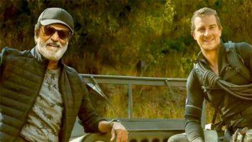 Man vs Wild: Bear Grylls shares first look of Rajinikanth as the superstar makes his TV debut