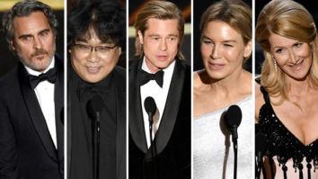 Oscars 2020 Winners: Joaquin Phoenix, Bong Joon Ho, Brad Pitt, Renée Zellweger, Laura Dern, Parasite win big at Academy Awards