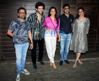 Photos: Bhool Bhulaiyaa 2 team snapped at producer Murad Khetani's house