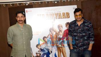 Photos: Deepak Dobriyal and Mukesh Chhabra snapped promoting their film Kaamyaab