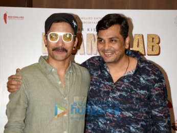Photos: Deepak Dobriyal and Mukesh Chhabra snapped promoting their film Kaamyaab