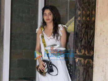 Photos Janhvi Kapoor spotted outside the gym