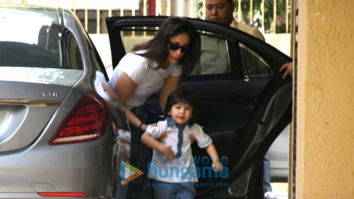 Photos: Kareena Kapoor Khan and Taimur Ali Khan spotted at Karisma Kapoor's residence