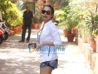 Photos: Malaika Arora snapped at Diva Yoga studio