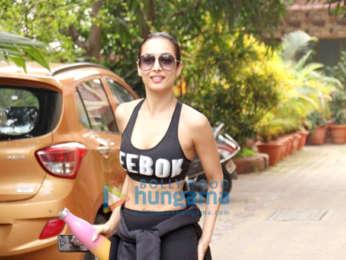 Photos: Malaika Arora spotted at Diva Yoga