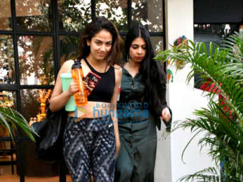 Photos: Mira Rajput snapped at the gym
