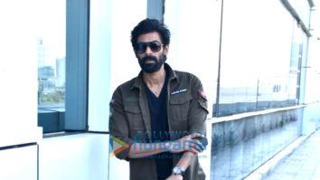 Photos: Rana Daggubati snapped at Eros Now office in Andheri