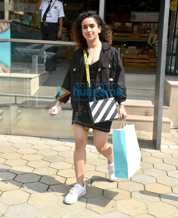Photos: Sanya Malhotra snapped at Food Mall