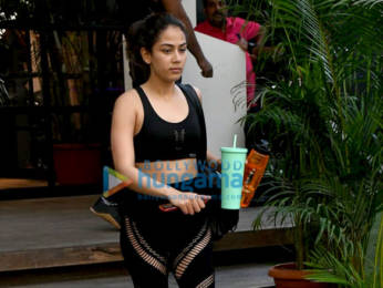 Photos: Shahid Kapoor and Mira Kapoor spotted at the gym