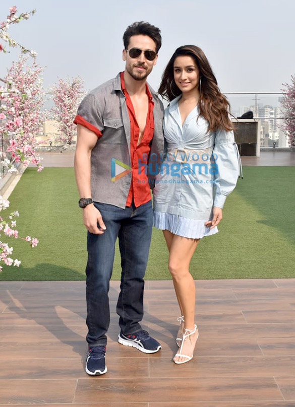 Photos Tiger Shroff and Shraddha Kapoor snapped promoting their film Baaghi 3 (2)