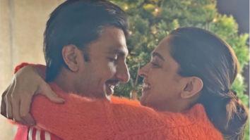 Post Filmfare Awards 2020, Ranveer Singh shares a photo of Deepika Padukone holding the black lady