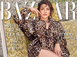 Priyanka Chopra Jonas posing in Dolce Gabbana for the March issue of Harper's Bazaar redefines spiffy for us!