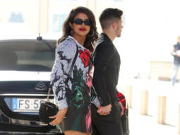 Priyanka Chopra steps out with Nick Jonas wearing a Moschino 'Dracula' shirt dress worth Rs. 45,971!