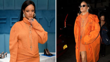 Rihanna visits her pop-up store in New York wearing head-to-toe Fenty collection worth over Rs. 2 lakhs