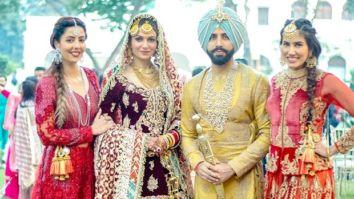 Sonnalli Seygall gives best friend goals as she has a gala time at former Miss India Simran Kaur Mundi's wedding