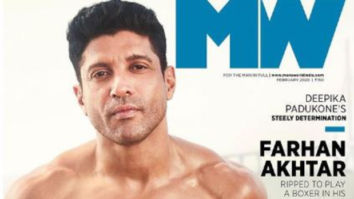 Toofan star Farhan Akhtar flaunts his ab-tastic body on the cover of Man's World