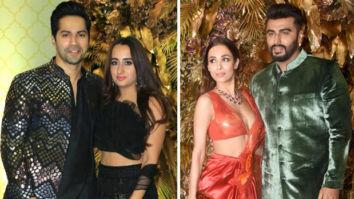 Varun Dhawan – Natasha Dalal and Arjun Kapoor – Malaika Arora make it a couple's affair at Armaan Jain – Anissa Malhotra's wedding reception