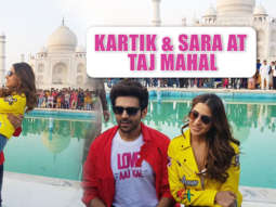 WOW- Kartik Aaryan & Sara Ali Khan at Taj Mahal to PROMOTE Love Aaj Kal