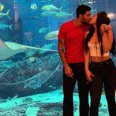 Krishna Shroff and boyfriend Eban Hyams share a passionate kiss as they hang out in Dubai