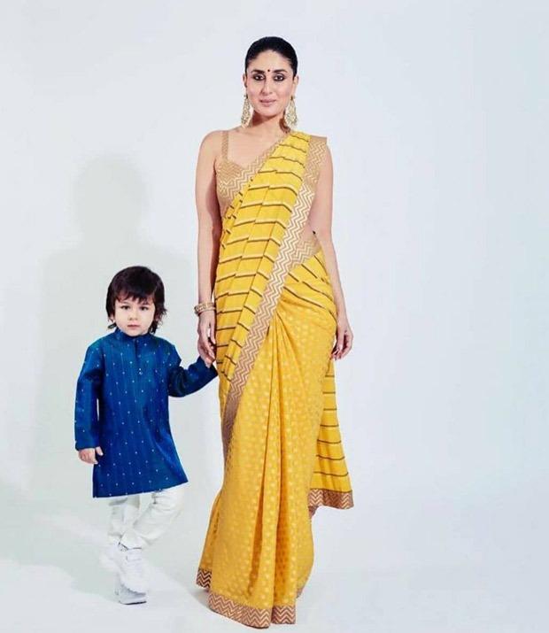 Watch: Little Taimur Ali Khan turns productive during mom Kareena Kapoor Khan's photoshoot!