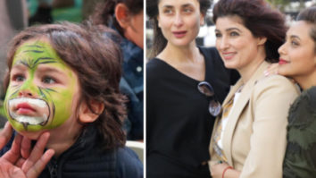 PICS: Taimur paints his face; mom Kareena Kapoor poses with Twinkle Khanna and Rani Mukerji at the birthday bash fro Karan Johar's twins