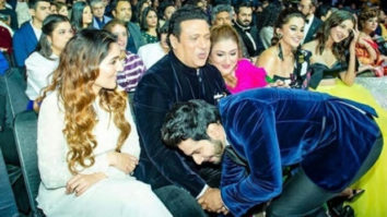 Filmfare Awards 2020: Varun Dhawan shares a warm moment with the original Coolie No 1 Govinda