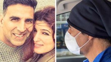 Akshay Kumar and Twinkle Khanna drive to hospital through deserted road amid nationwide lockdown