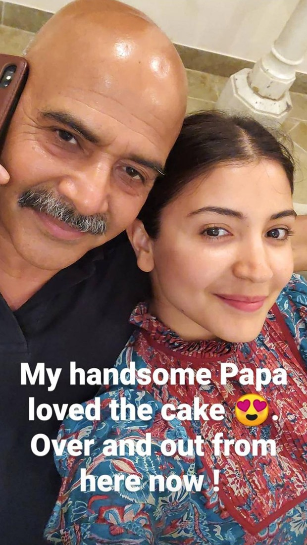 Anushka Sharma bakes birthday cake for dad amid self-quarantine period