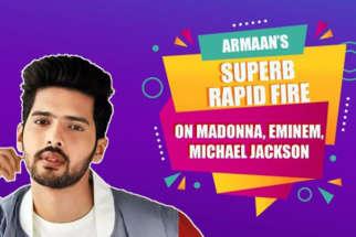Armaan Malik DEDICATES this Hindi song to Michael Jackson Rapid Fire Celine Dion Madonna