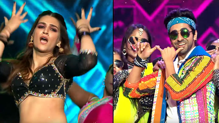 Ayushmann Khurrana & Kriti Sanon's ENTERTAINING Performance at Zee Cine Awards 2020