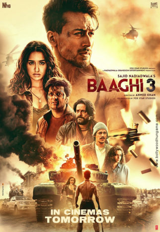 Baaghi 3 Photos Poster Images Photos Wallpapers Hd Images Pictures Bollywood Hungama