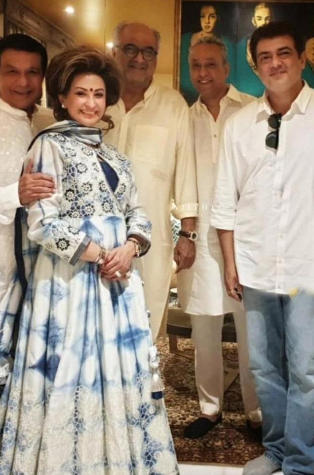 Boney Kapoor and Janhvi Kapoor attend a prayer meet for Sridevi