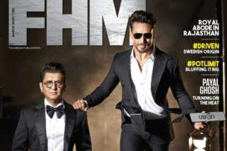 Sajid Nadiadwala, Tiger Shroff On The Covers Of FHM