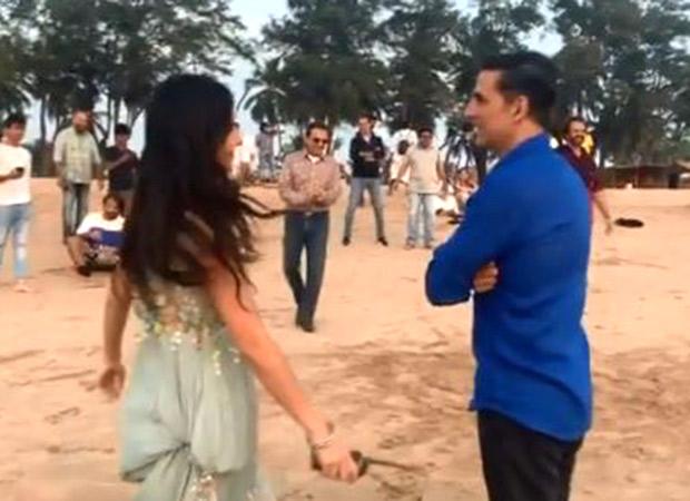 Watch: Akshay Kumar disapproves Katrina Kaif's failed attempt at after shoot games