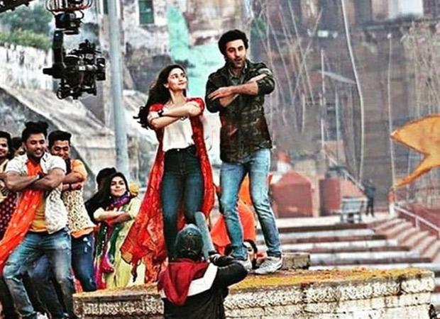 LEAKED VIDEO! Ranbir Kapoor and Alia Bhatt dance together on the sets of Brahmastra