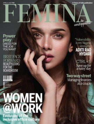 Aditi Rao Hydari On The Covers Of Femina