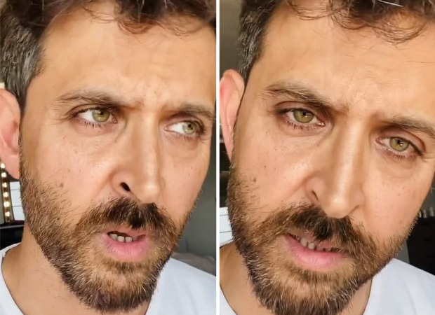 Hrithik Roshan puts out a strong message for all his fans amid Coronavirus pandemic